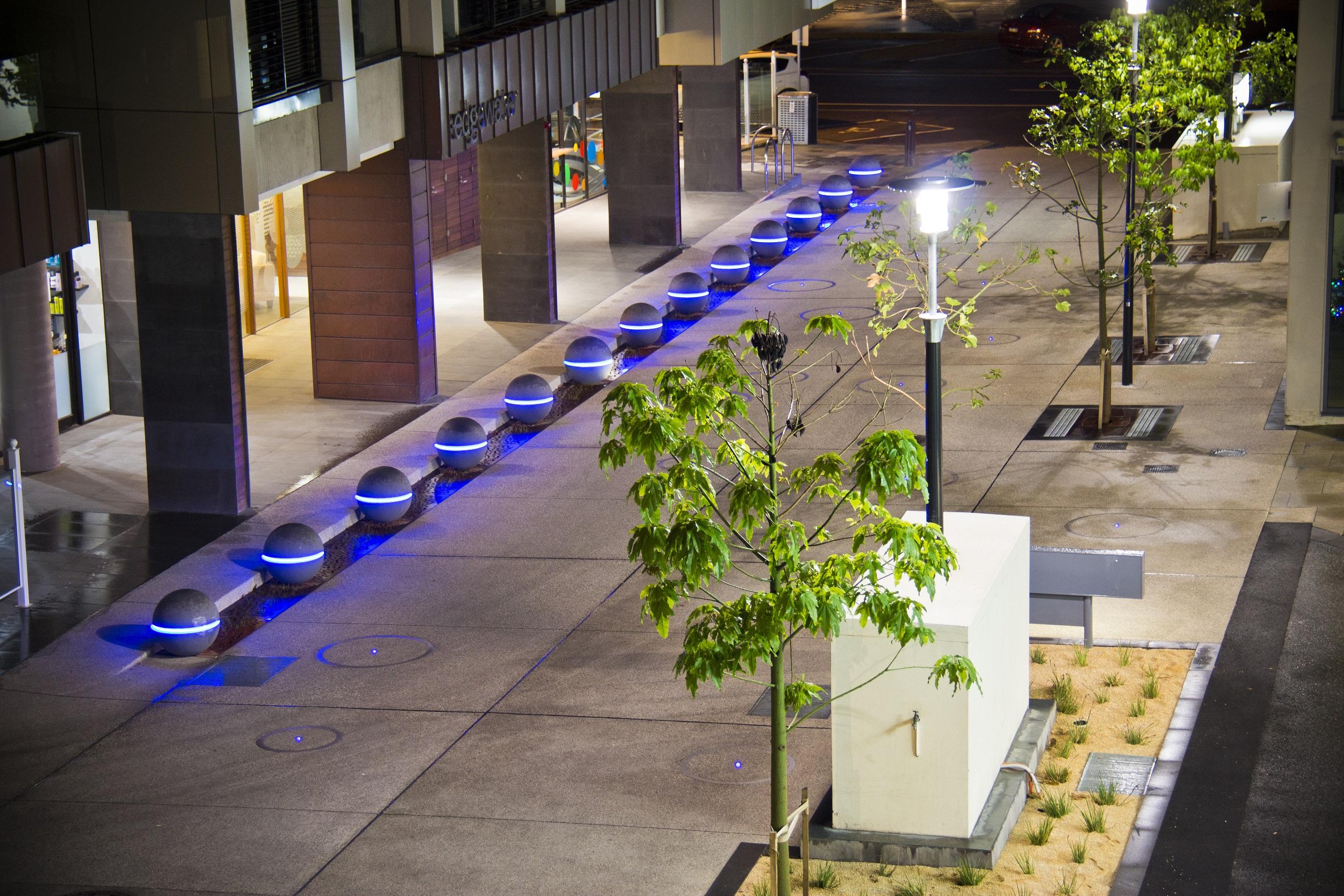 Geelong City Council Spheres LED Lights Granite Range Mimosa (18)