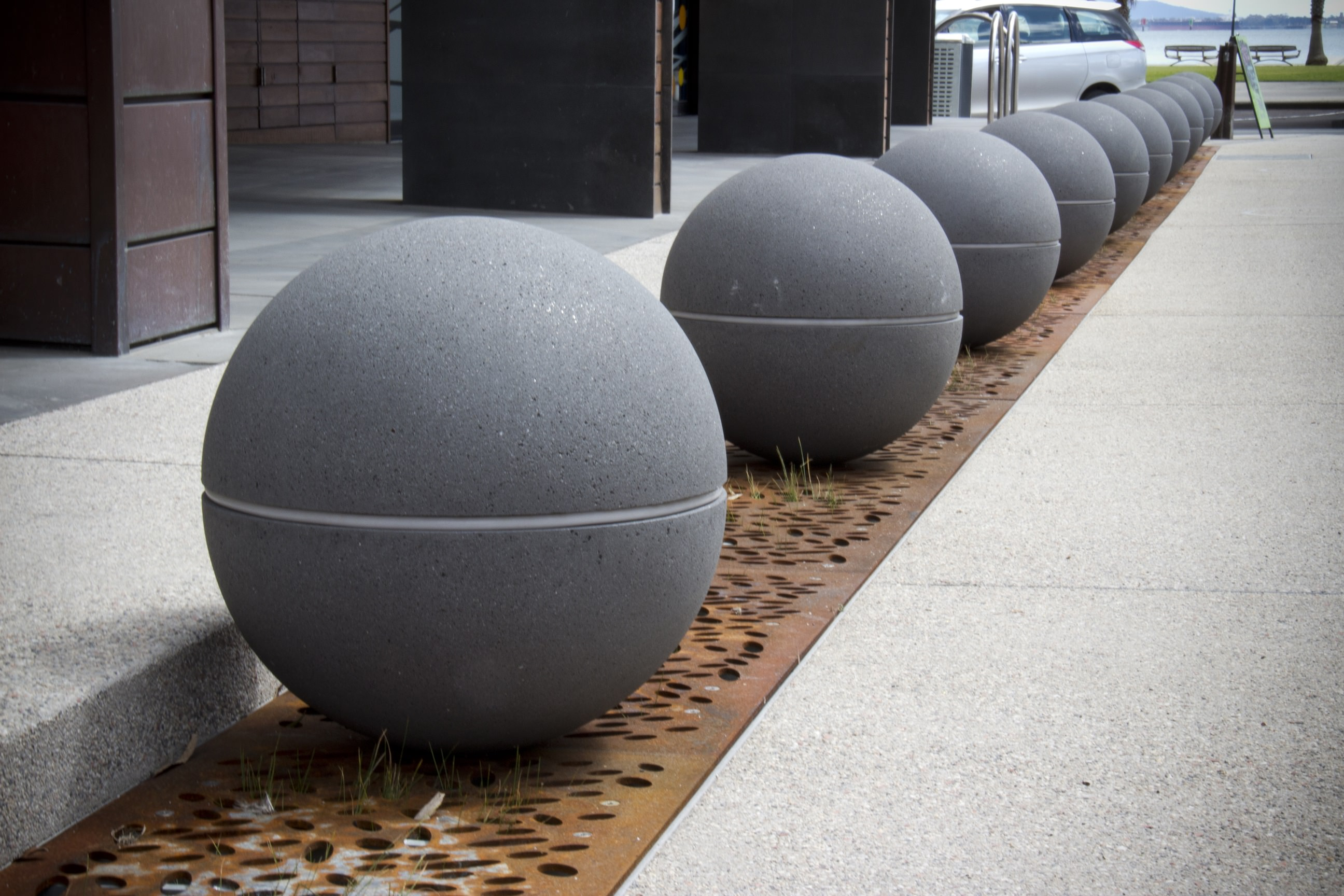 Geelong City Council Spheres LED Lights Granite Range Mimosa (7)