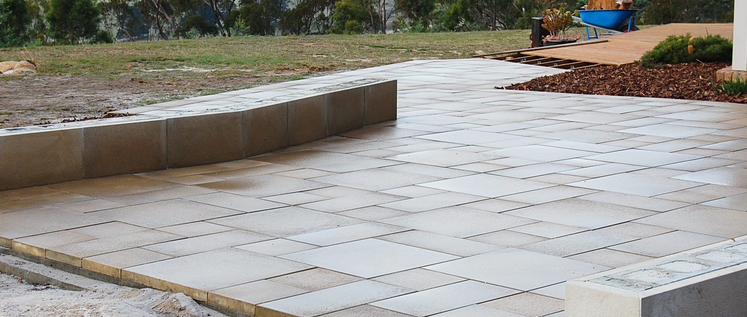 Post installation, pavers should be cleaned with an acid wash solution.
